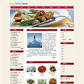 企业网站-餐饮A4