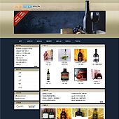 企业网站-酒类A4