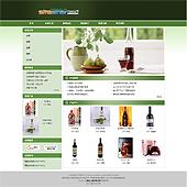 企业网站-酒类A25