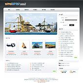 企业网站-机械A18