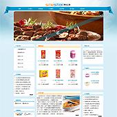 企业网站-食品A12