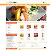 企业网站-食品A15