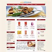 企业网站-食品A18