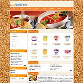 企业网站-食品A5