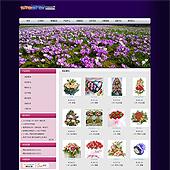 企业网站-鲜花A21