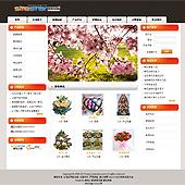 企业网站-鲜花A25