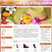 企业网站-鞋帽A4