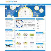 企业网站-钟表A12