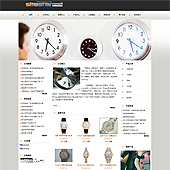 企业网站-钟表A5